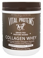 Vital Proteins - Collagen Whey Cocoa & Coconut Water - 20.2 oz.