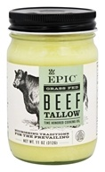 Epic - Grass Fed Beef Tallow Animal Cooking Oil - 11 oz.