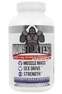 Angry Supplements - Monster Test Testosterone Booster Maximum Strength 6000 mg. - 120 Tablets