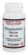 Protocol For Life Balance - Phosphatidyl Serine 100 mg. - 60 Softgels