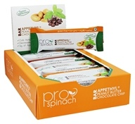 ProSpinach - Appethyl Bar Peanut Butter Chocolate Chip - 12 Bars