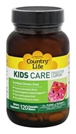 Country Life - Kids Care Digestive Support Watermelon - 120 Chewable Wafers