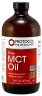 Protocol For Life Balance - Pure MCT Oil - 16 oz.