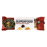 Nature's Path Organic - Qia Superfood Bar Roasted Peanut Dark Chocolate - 1.3 oz.