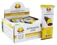 Amrita - Plant-Based Nutrition Energy Bars Box Pineapple Chia - 12 Bars
