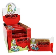 Bobo's Oat Bars - All Natural Bars Box Cranberry Orange - 12 Bars