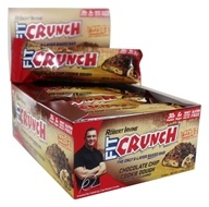 Chef Robert Irvine FortiFX - Fit Crunch Protein Bars Box Chocolate Chip Cookie Dough - 12 Bars