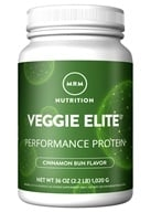 Smooth Veggie Elite Vegan Performance Protein Powder Cinnamon Bun - 2.25 lbs.