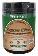 MRM - Veggie Elite Performance Protein All Natural Chocolate Mocha - 1.22 lb.