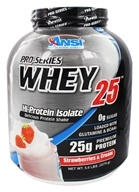 ANSI (Advanced Nutrient Science) - Pro-Series Whey 25 Strawberries & Cream - 5 lbs.