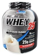 ANSI (Advanced Nutrient Science) - Pro-Series Whey 25 Ice Cream Vanilla - 5 lbs.