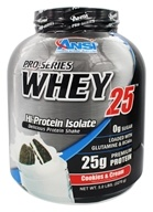 ANSI (Advanced Nutrient Science) - Pro-Series Whey 25 Cookies & Cream - 5 lbs.