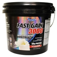 ANSI (Advanced Nutrient Science) - Fast Gain 3000 Ice Cream Vanilla - 12 lbs.