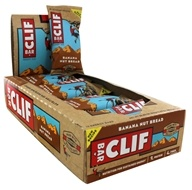 Clif Bar - Organic Energy Bars Box Banana Nut Bread - 12 Bars
