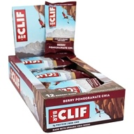Clif Bar - Organic Energy Bars Box Berry Pomegranate Chia - 12 Bars