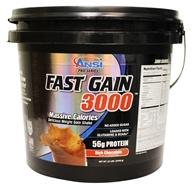 ANSI (Advanced Nutrient Science) - Fast Gain 3000 Rich Chocolate - 12 lbs.