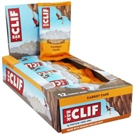 Clif Bar - Organic Energy Bars Box Carrot Cake - 12 Bars