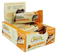 ANSI (Advanced Nutrient Science) - Gourmet Cheesecake Protein Bar Chocolate Peanut Butter Cheesecake - 12 Bars