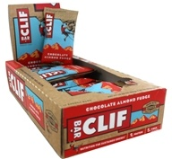Clif Bar - Organic Energy Bars Box Chocolate Almond Fudge - 12 Bars