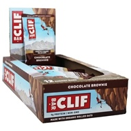 Clif Bar - Organic Energy Bars Box Chocolate Brownie - 12 Bars