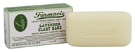 Soap & Paper - Farmacie Ultra Moisturizing Shea Bar Soap Lavender Clary Sage - 6 oz.