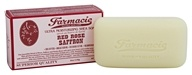 Soap & Paper - Farmacie Ultra Moisturizing Shea Bar Soap Red Rose Saffron - 6 oz.