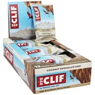 Clif Bar - Organic Energy Bars Box Coconut Chocolate Chip - 12 Bars
