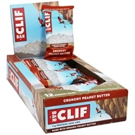 Clif Bar - Organic Energy Bars Box Crunchy Peanut Butter - 12 Bars
