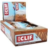 Clif Bar - Organic Energy Bars Box Peanut Toffee Buzz - 12 Bars