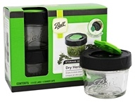 Ball - Dry Herb 4 oz. Jars Storage Series - 4 Pack