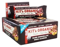 Clif Bar - Kit's Organic Fruit & Nut Bars Box Dark Chocolate Chili Almond - 12 Bars