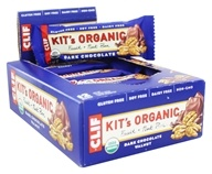 Clif Bar - Kit's Organic Fruit & Nut Bars Box Dark Chocolate Walnut - 12 Bars