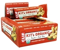 Clif Bar - Kit's Organic Fruit & Nut Bars Box Peanut Butter - 12 Bars