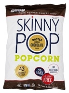 Skinny Pop - Gluten Free Popcorn Dusted Dark Chocolate - 4.4 oz.