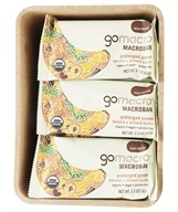 GoMacro - Organic MacroBar Prolonged Power Bars Box Banana + Almond Butter - 12 Bars