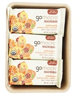 GoMacro - Organic MacroBar Protein Purity Bars Box Sunflower Butter + Chocolate - 12 Bars