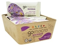 GoMacro - Organic MacroBar Sweet Revival Bars Box Sesame Butter + Dates - 12 Bars