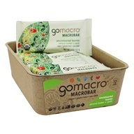 GoMacro - Organic MacroBar Wholehearted Heaven Bars Box Almond Butter + Carob - 12 Bars