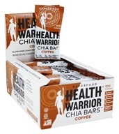 Health Warrior - Superfood Chia Bars Box Coffee - 15 Bars