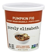 Purely Elizabeth - Gluten-Free Ancient Grain Granola and Puffs Pumpkin Fig - 1.1 oz.