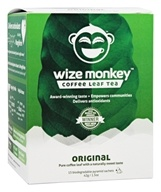 Wize Monkey - Coffee Leaf Tea Original - 15 Sachet(s)