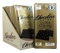 Chocolove - Dark Chocolate Bars Box Extra Strong Dark - 12 Bars