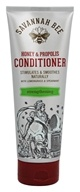 Savannah Bee - Honey & Propolis Strengthening Conditioner with Lemongrass & Spearmint - 8 oz.