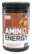 Optimum Nutrition - Essential AmiN.O. Energy Iced Caramel Macchiato - 10.6 oz.