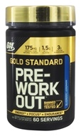 Optimum Nutrition - Gold Standard Pre-Workout Blueberry Lemonade - 1.32 lb.