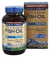 Wiley's Finest - Wild Alaskan Fish Oil Peak EPA 1250 mg. - 120 Fish Softgel(s)