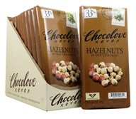 Chocolove - Milk Chocolate Bars Box Hazelnuts - 12 Bars