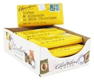 Chocolove - Milk Chocolate Mini Bars Box Toffee & Almonds - 12 Mini Bar(s)