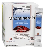 Biopharma Scientific - NanoMinerals Natural Raspberry Lemonade - 30 Packet(s)