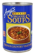 Amy's - Organic Hearty Soup French Country Vegetable - 14.4 oz.